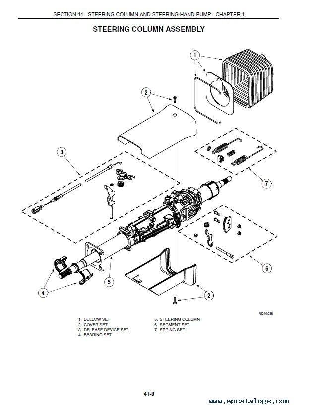 New Holland TG Series Tractors Repair Manual PDF
