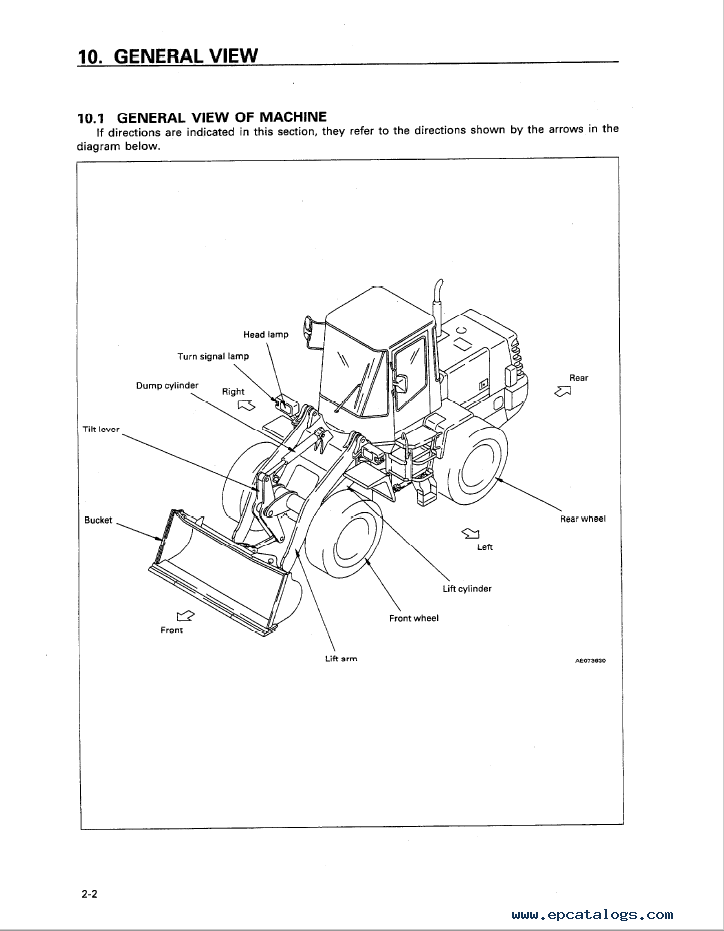 Komatsu Wheel Loader WA180-3 Manual PDF
