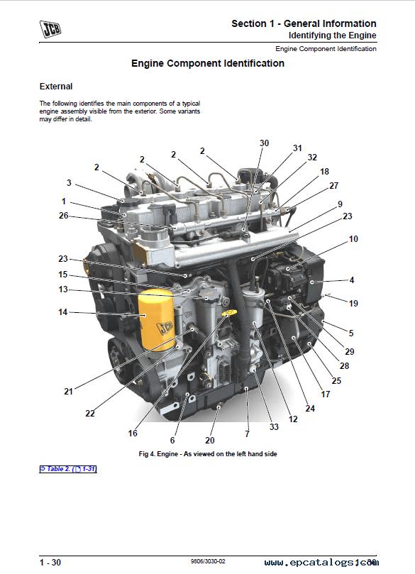 Download JCB Dieselmax Tier 3 SE Engine Service Manual PDF