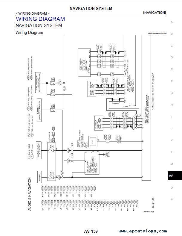 Schaltplan Nissan Qashqai J11