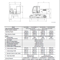 Cat 5 Wiring Diagram Pdf Two Outlet Hitachi Zaxis 200-3, 225us-3, 225usr-3, 240-3, 270-3