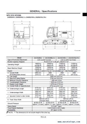Hitachi Zaxis 2003, 225US3, 225USR3, 2403, 2703 PDF
