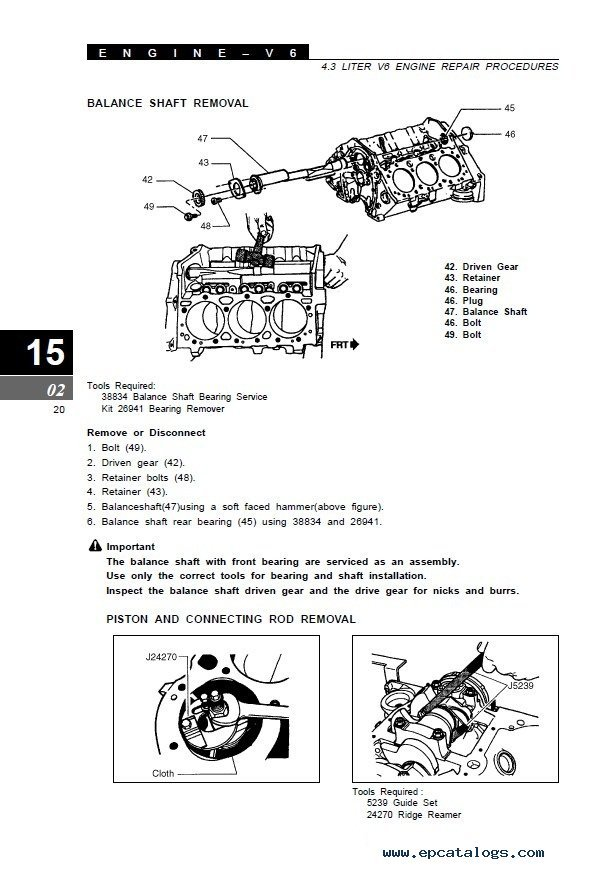 Clark SF50-75sD/L CMP50-75sD/L SM690 PDF Manual