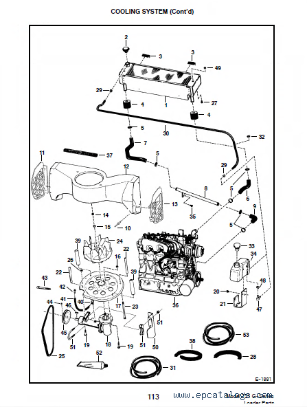 843 Bobcat Wiring Diagram Bobcat 751 G Series Skid Steer Loader Parts Manual Pdf