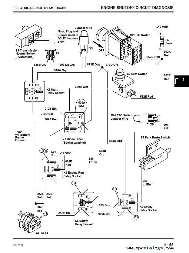 john deere 4100 tractor wiring diagram rj11 data wiring