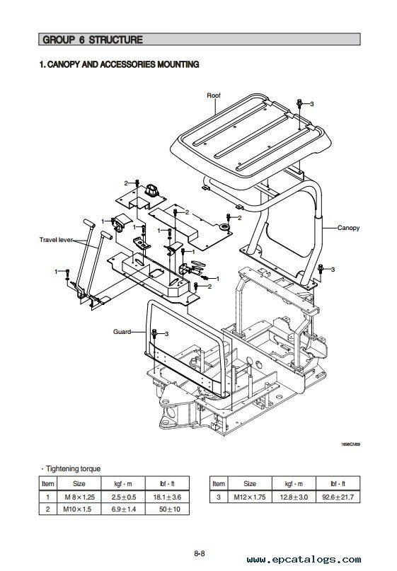 Hyundai R16-9 Mini Excavator Service Manual