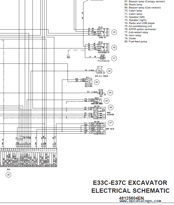 New Holland E37C Mini Excavator Download Service Mnaual PDF