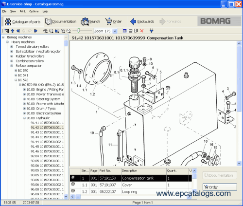 small resolution of spare parts catalog bomag all spare parts catalog 07 2008 4