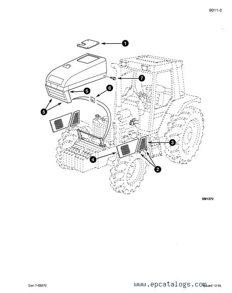 CASE 3200 & 4200 Tractors PDF Service Manual