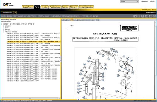 small resolution of repair manual caterpillar lift trucks 2019 mcfa usa parts catalog and service manuals