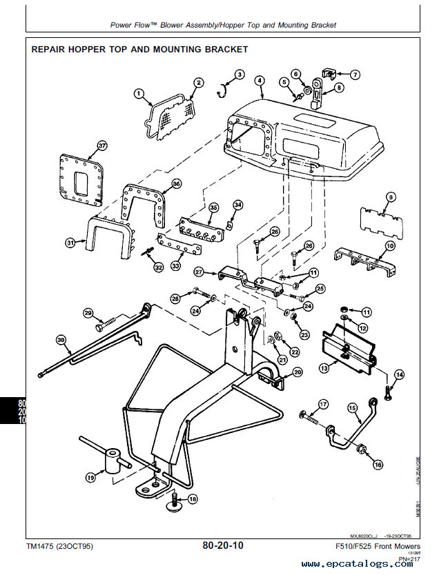 John Deere F525 Wiring Diagram For Engine. . Wiring Diagram