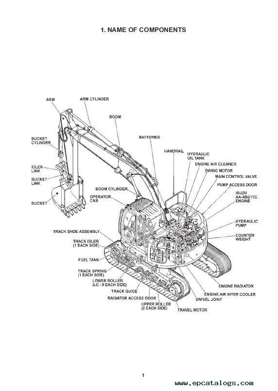 Fiat Kobelco E200SR Evolution Crawler Excavator WM PDF