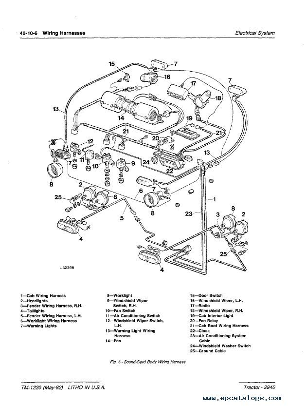 Wiring Diagram For John Deere L130
