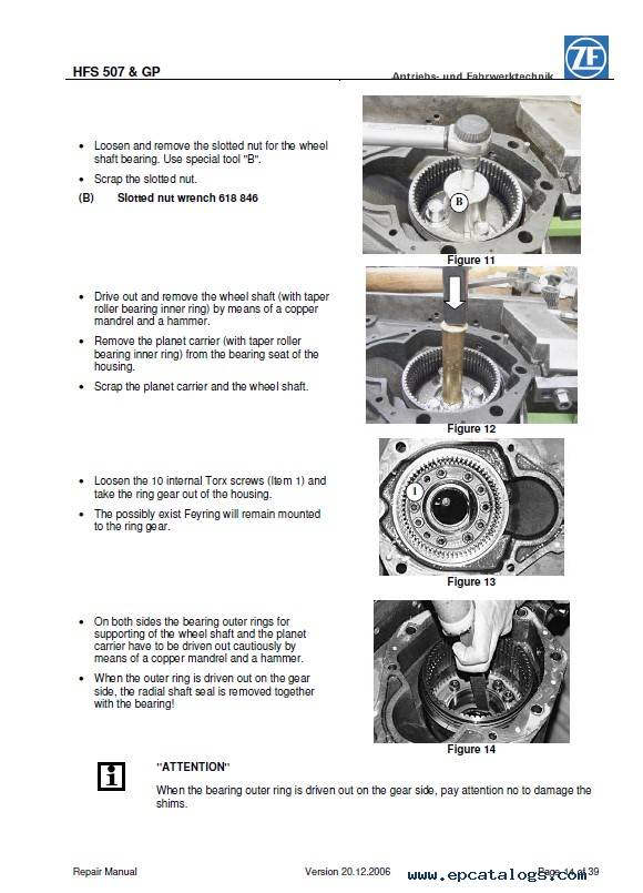 Download ZF HFS507 GP18 GP20 GP21 GP23 Repair PDF