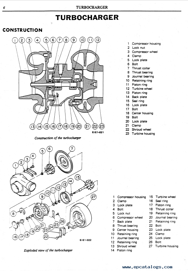Nissan Diesel Engine NE6 for Kobelco PDF Service Manual