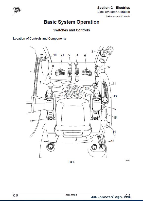 Download JCB Mini Excavator 8085 Service Manual PDF