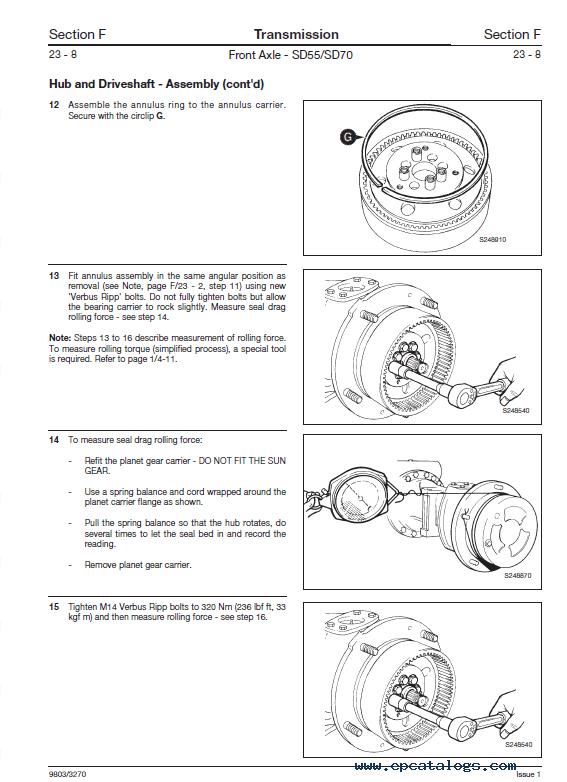 JCB Backhoe Loader 3CX 4CX 214 215 217 VARIANTS Service PDF