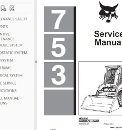 bobcat 753 loader service manual pdf 753 bobcat ingntion wiring diagram wiring diagrams bobcat 753 ignition [ 1019 x 789 Pixel ]