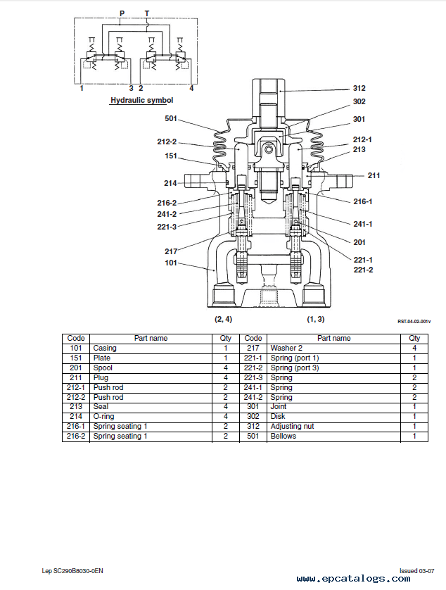 Case CX290B Crawler Excavator Service Manual PDF