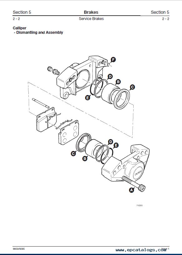 Download JCB PD70 Series Modular Drivehead Service Manual PDF