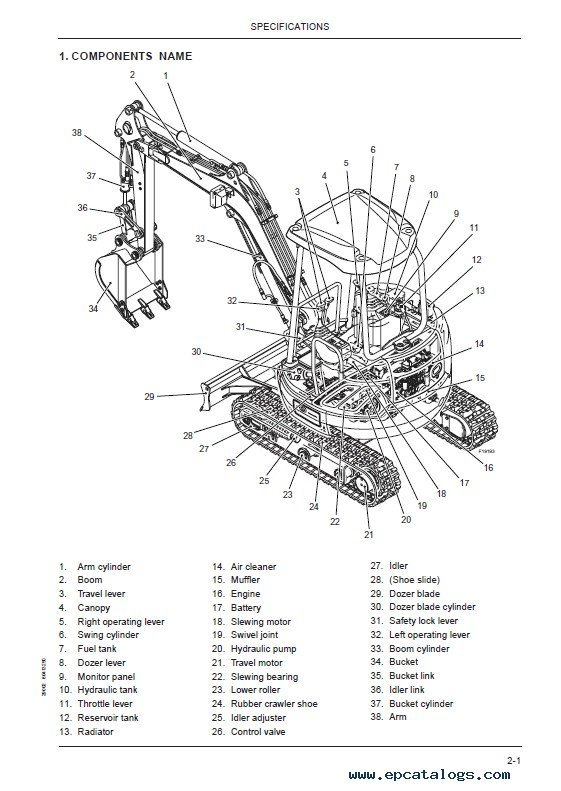 Download Fiat Kobelco E30/35SR Evolution Excavators PDF