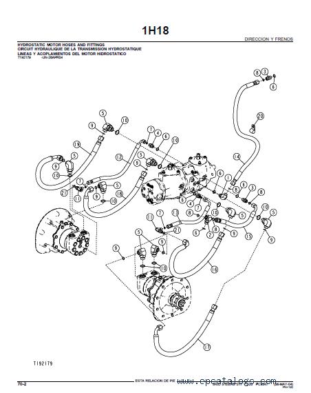 John Deere 317 Y 320 Skid Steers PDF Parts Catalog