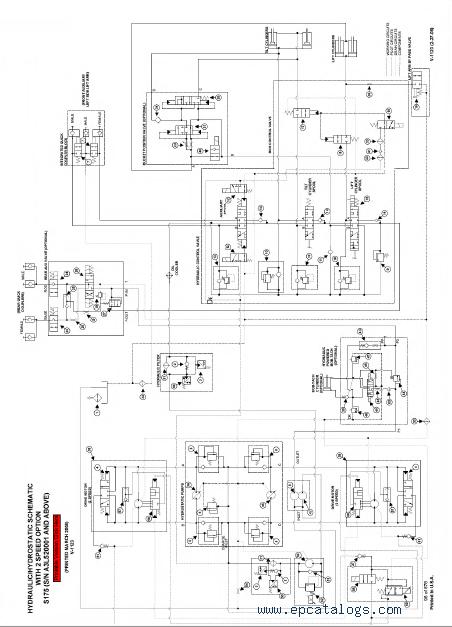 gehl skid steer wiring diagram