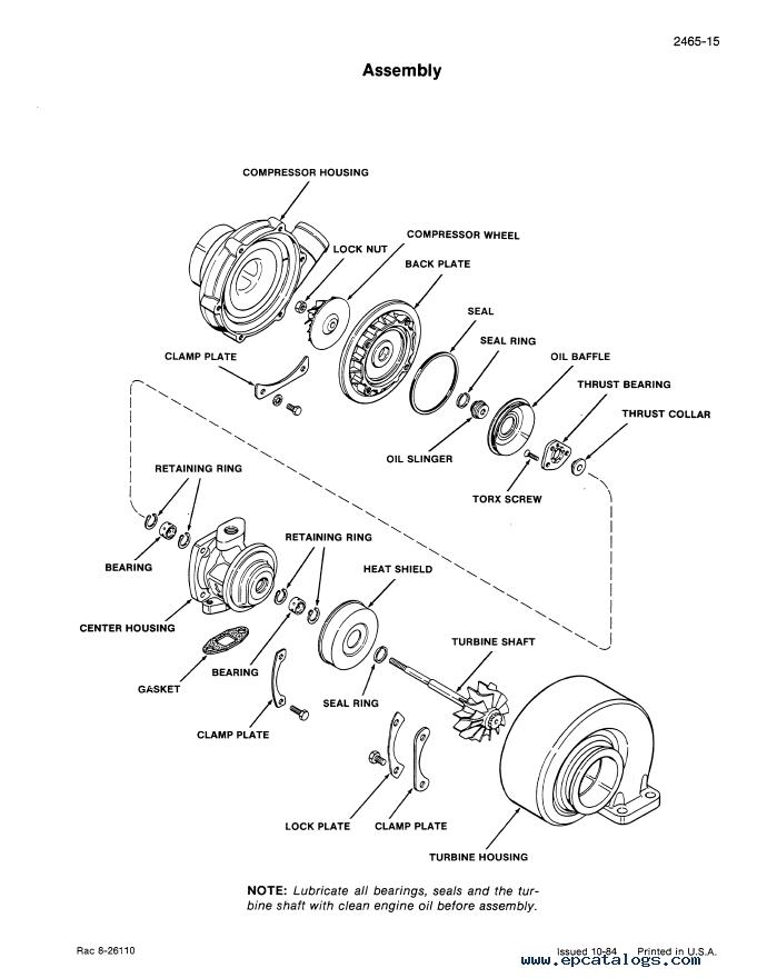 CASE Engines 6-590, 6T-590 & 6TA-590 PDF Service Manuals