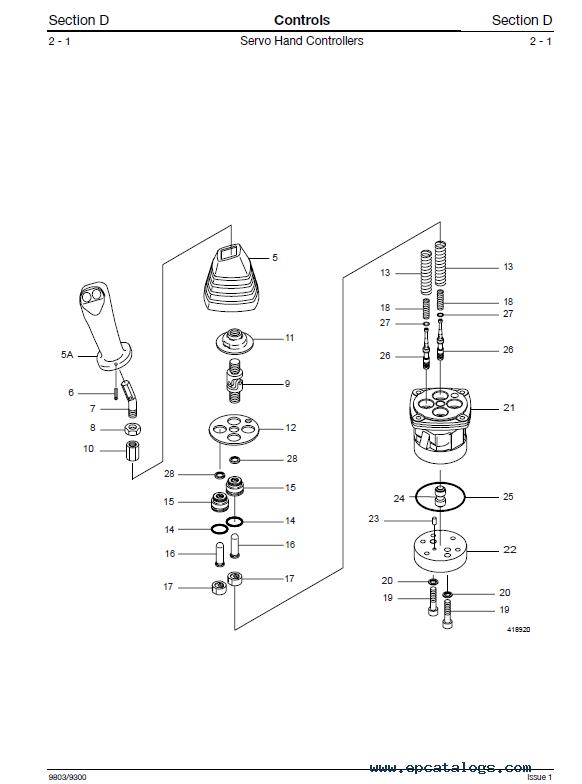 Download JCB Mini Excavators 8027Z, 8032Z Service Manual PDF