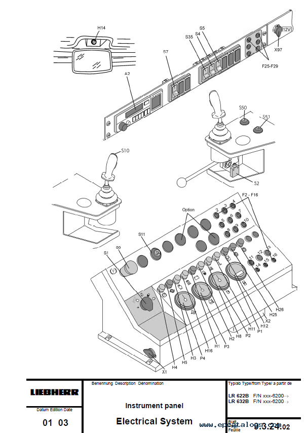 Liebherr Crawler Loaders Series 2 Litronic Service Manual PDF