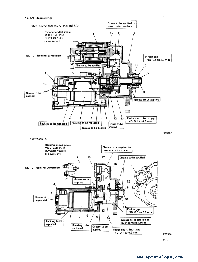 Mitsubishi Diesel Engine DR model for Industrial use PDF
