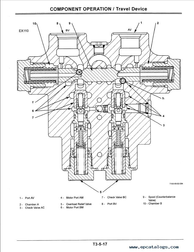 Hitachi EX110-5 EX110M-5 Excavator TO154E-NA PDF