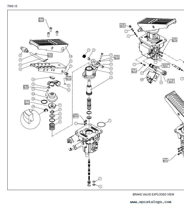 New Holland W110C Tier II Wheel Loader PDF Service Manual