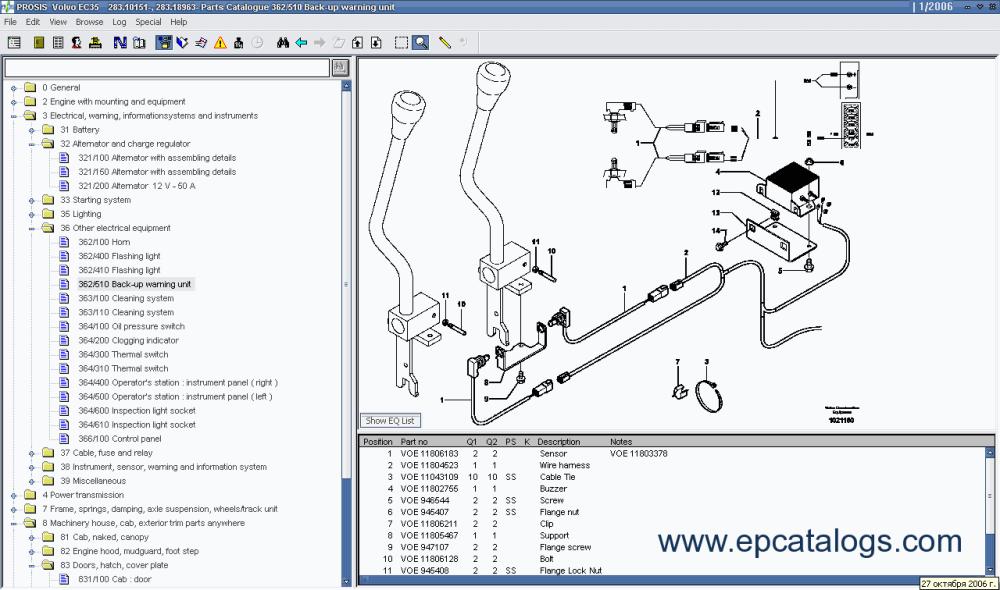 medium resolution of volvo prosis 2006 volvo prosis 2006 repair manual heavy technics repair volvo ec210 wiring