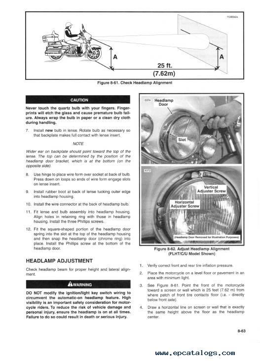 Download Harley Davidson FLT 2000 Service Manual PDF