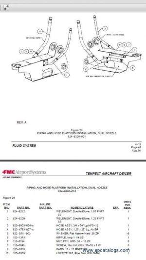 FMC Tempest TMP2 Aircraft Deicer Repair Manuals Download