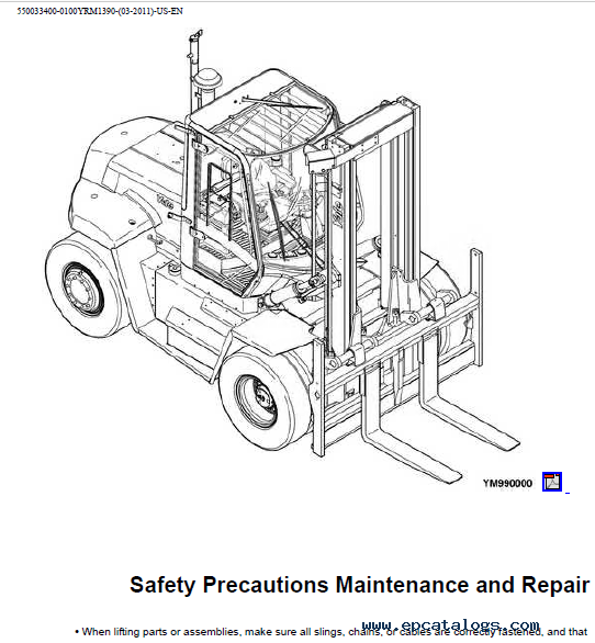 Yale D877 Trucks PDF Parts and Service Informations