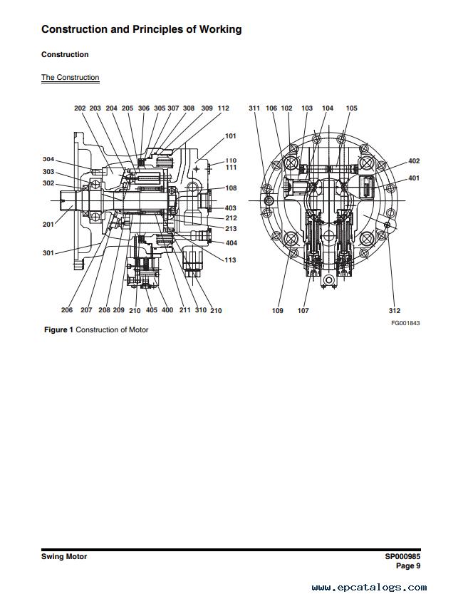 Doosan Wheel Excavator DX140W,DX160W Shop Manual
