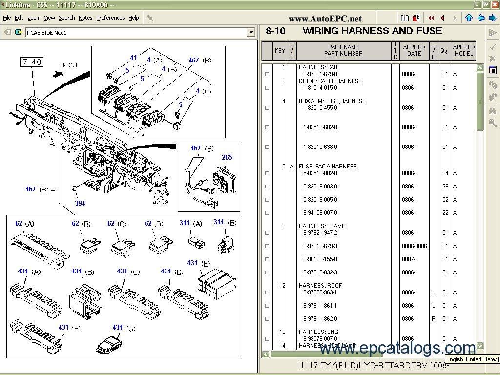 isuzu dmax wiring diagram 110 block css net 2012 spare parts catalog download
