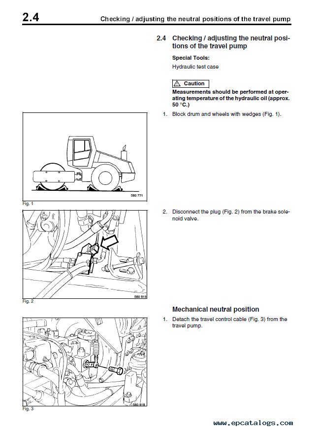 Bomag BW 211 D-3 Drum Wheel Roller Instructions Repair PDF