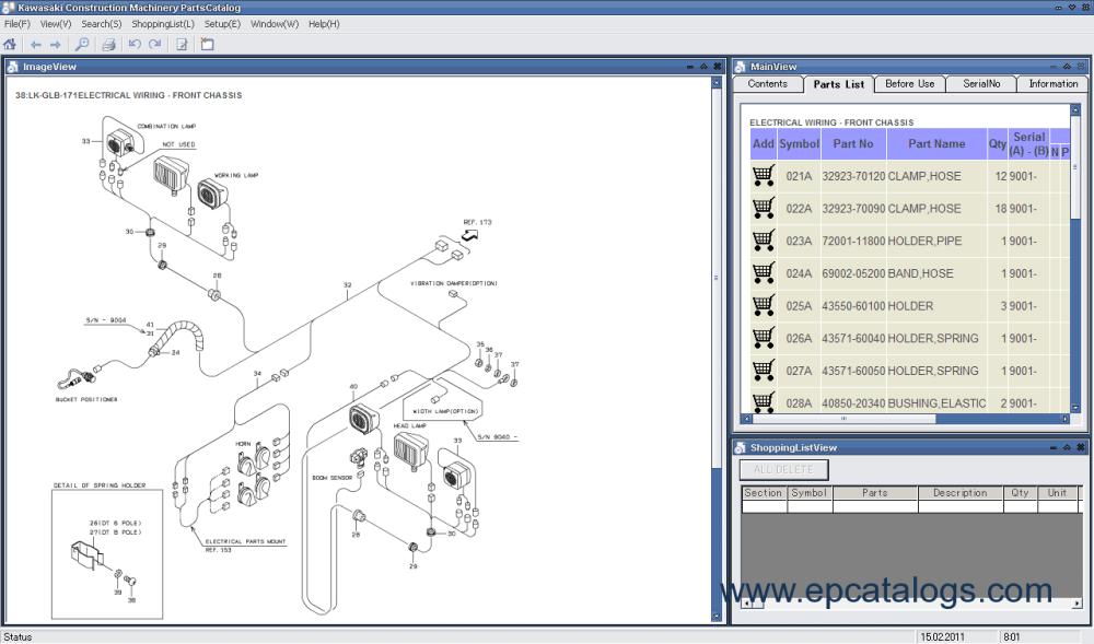 medium resolution of spare parts catalog kawasaki wheel loaders 4