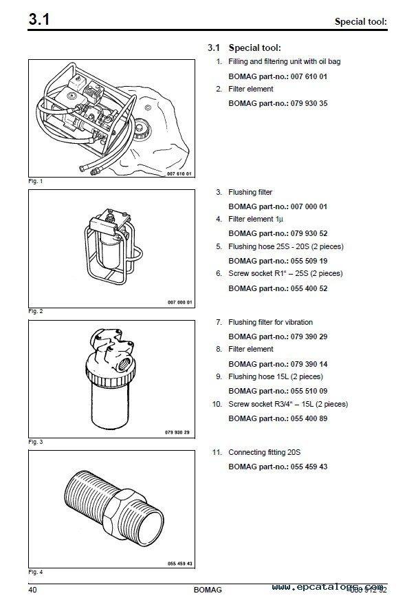Bomag BW145 DH-3 & BW145 PDH-3 Single Drum Roller PDF