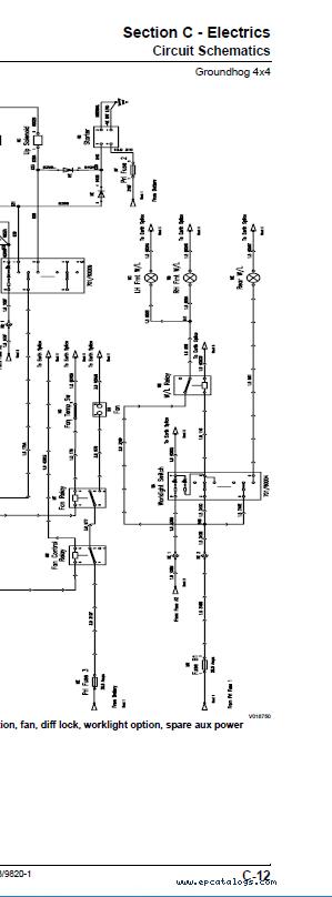 Download JCB Groundhog 4x4 Service Manual PDF