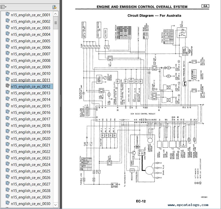 Luxury Nissan Almera Wiring Diagram Mold - Simple Wiring Diagram ...