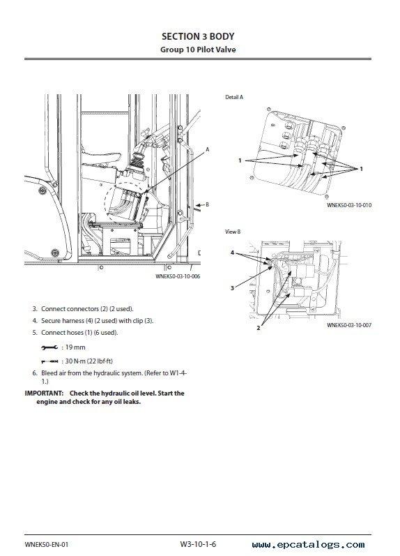 Hitachi Wheel Loader ZW 220-6 Workshop Manual PDF