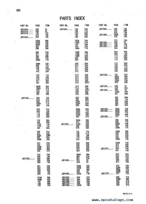Hitachi Hydraulic Excavator ZX160LC-3 Series Parts Catalog