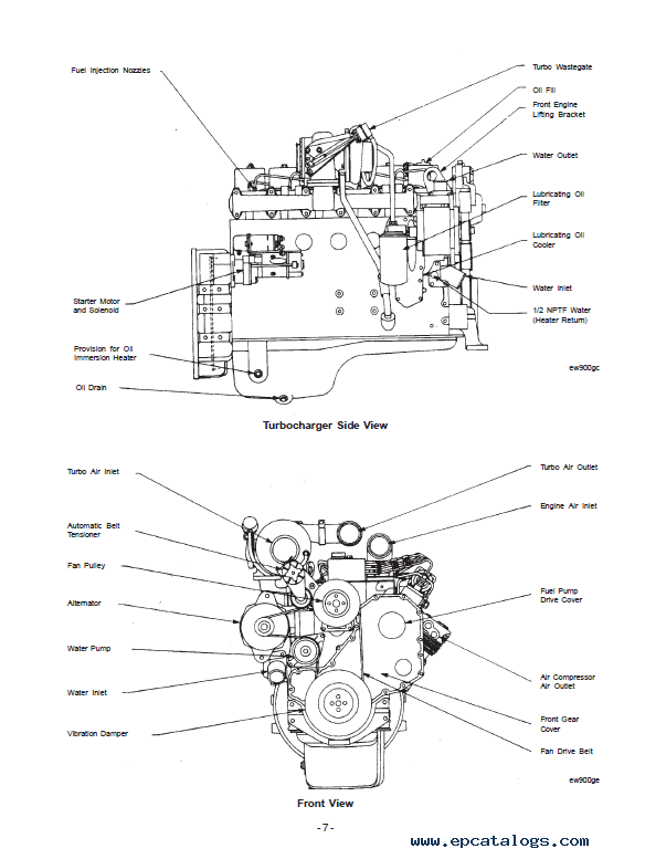 Download JCB Cummins 4B 3.9, 6B 5.9 Engines PDF Manual