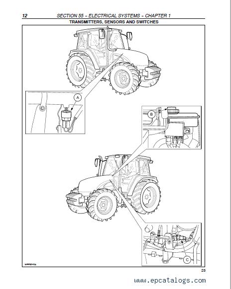 Case Tractors JX1080U, JX1090U, JX1100U Manual PDF