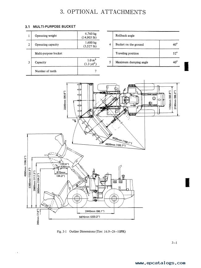 Kobelco LK300A Wheel Loader Download PDF Service Manual
