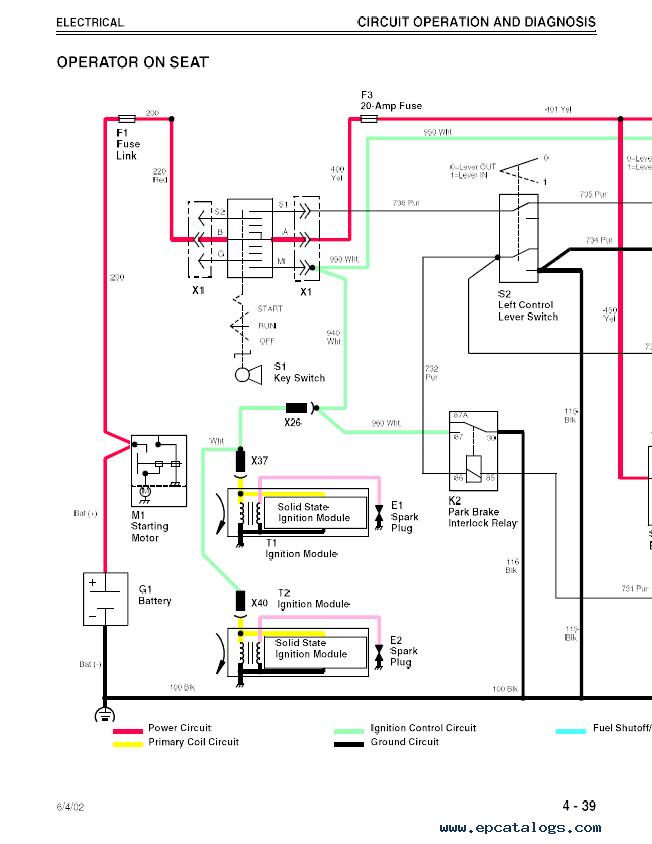 John deere l wiring diagram images